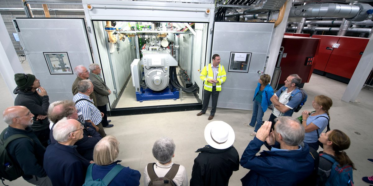 A guided tour of Eddington's facilities