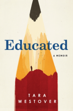 Front cover of Educated by Tara Westover
