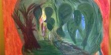 Mike Hogan painting