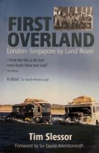 Tim Slessor's First Overland - recent edition book cover