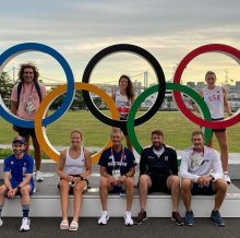 Cambridge alumni in the Olympic rowing team