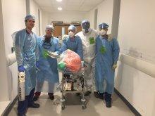 Ivan Wong and medical team