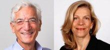Head shoots of Sir Ronald Cohen and Professor Jennifer Howard-Grenville