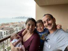 Katherine Milton and family