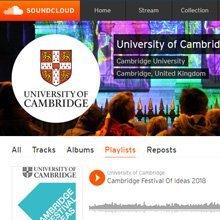 University of Cambridge Soundcloud playlists